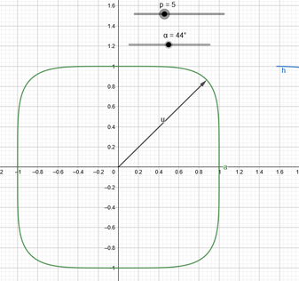 Preview picture of geogebra link.